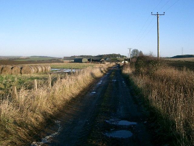 Farm Road.