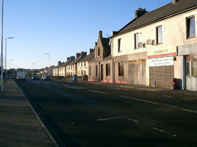 Lumphinnans Road.