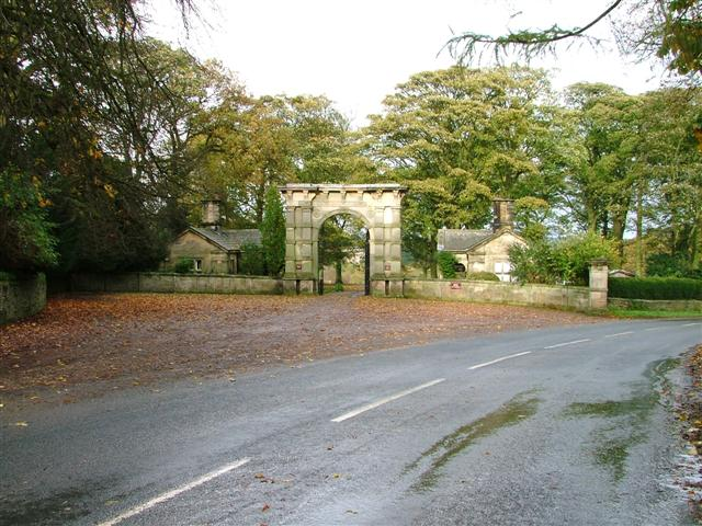 High Lodges, Entrance to Aske Hall