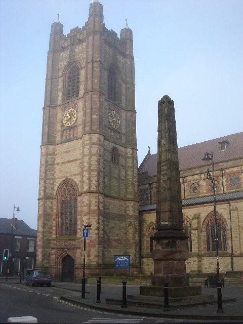 St. John, Atherton and obelisk