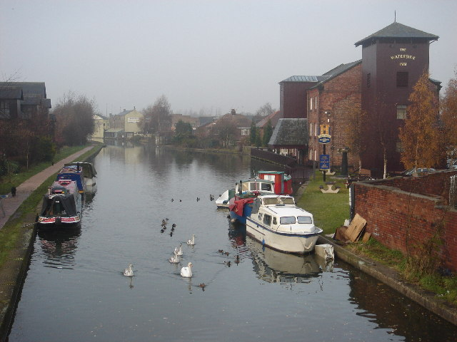The Leeds & Liverpool Canal at Leigh