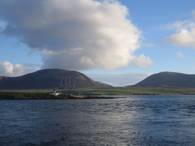 Graemsay and Hoy from Hoy Sound