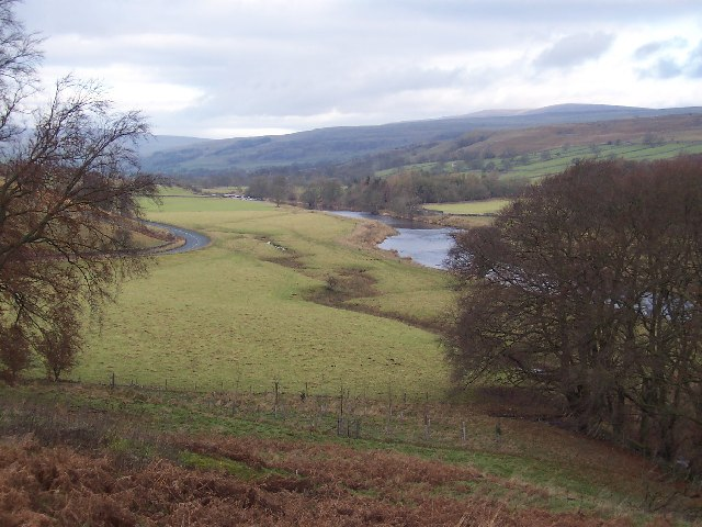 B6160 with River Wharfe
