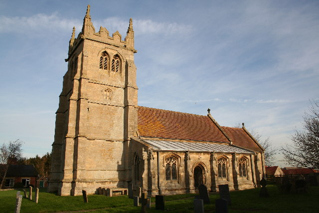 St.Mary & All Saints' church, Swarby, Lincs.