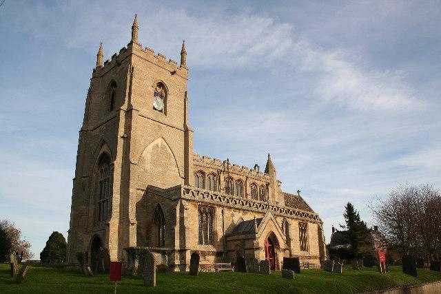 St.James' church, Aslackby, Lincs.