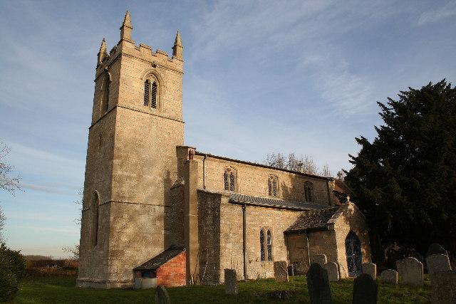 St.Mary & All Saints' church, Kirkby Underwood, Lincs.