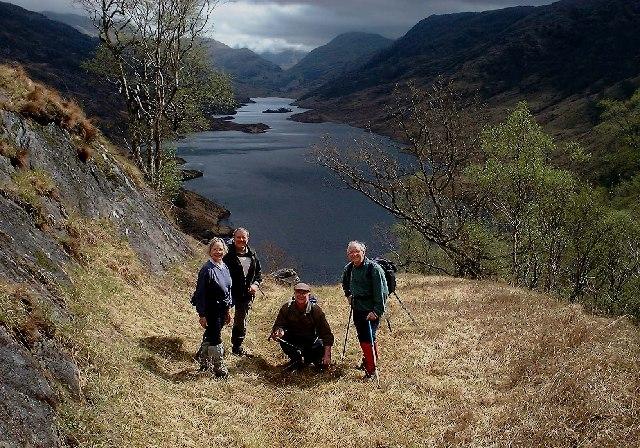 Loch Beoraid, (Morar region) from the west