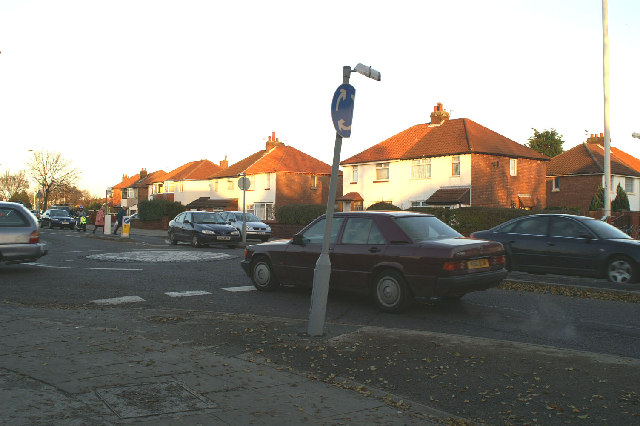 Junction of Grantham & Guildford Roads