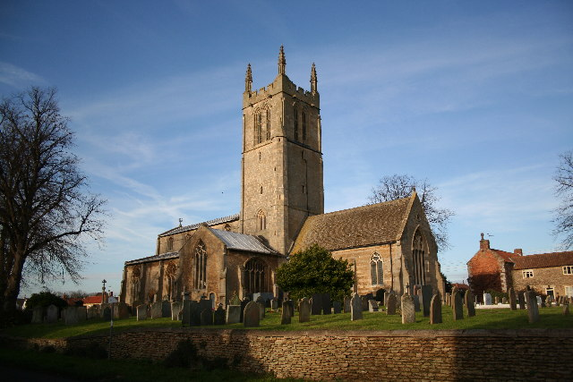 St.John the Baptist's church, Morton, Lincs.