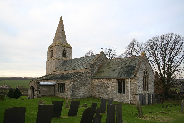 St.Thomas' church, Bassingthorpe, Lincs.