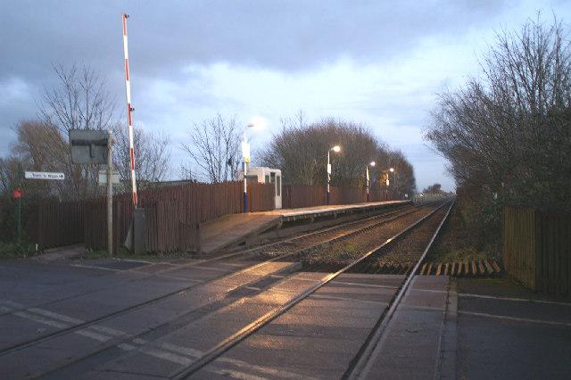 Bescar Lane Station, Wigan platform