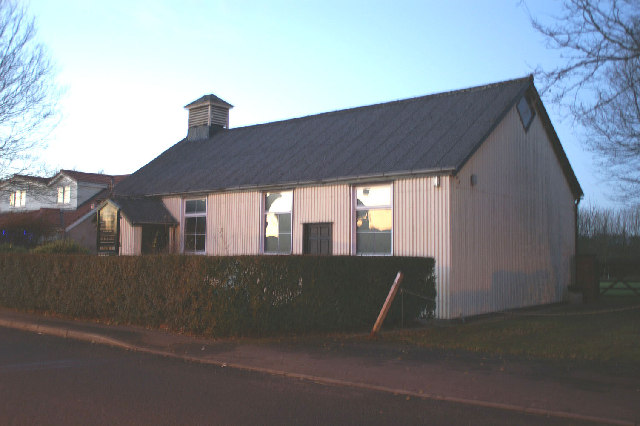 The Good Shepherd's tin tabernacle