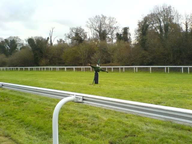 Scarecrow on Epsom Race Course