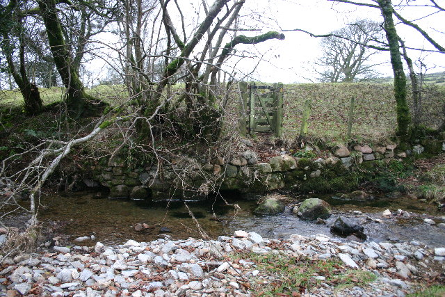 Missing Footbridge over Croasdale Beck