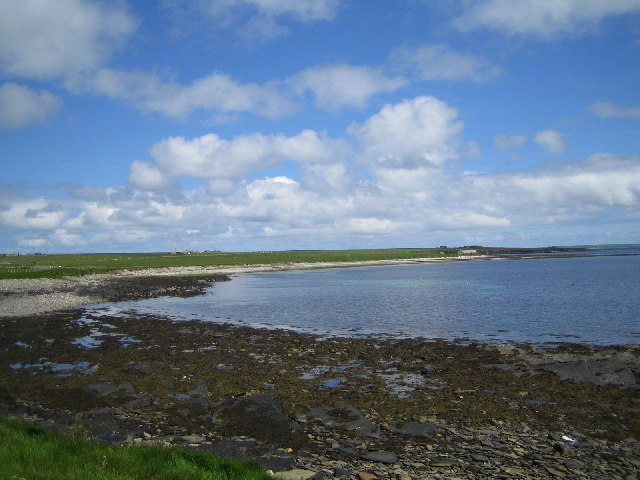 Bay of Greentoft. Eday