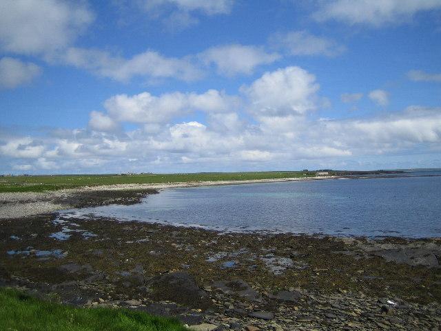 Bay of Greentoft. Eday
