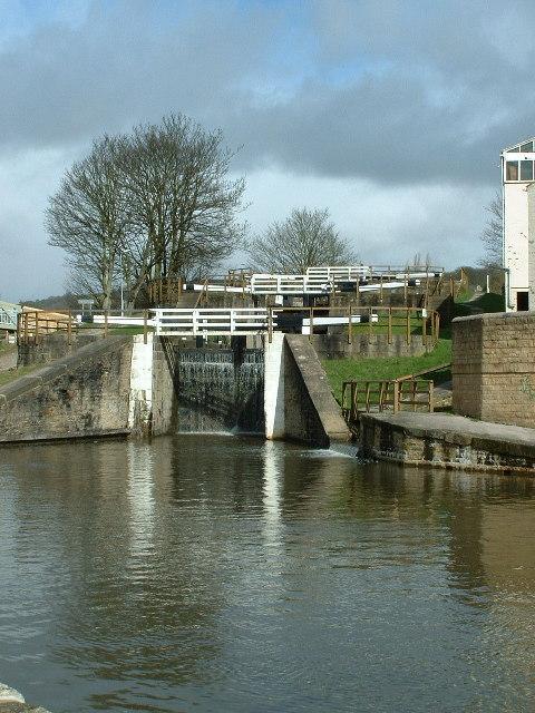 Bingley Three Rise Locks.
