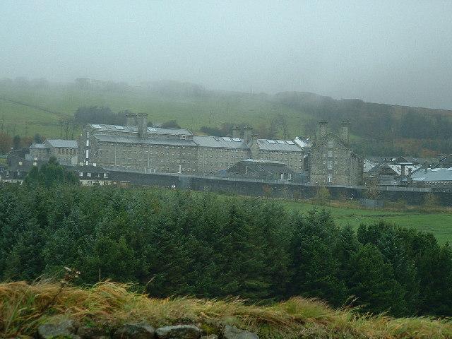 Dartmoor Prison, Princetown.