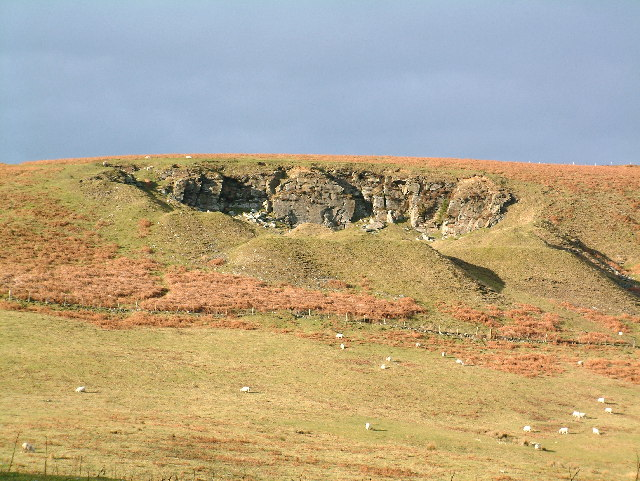 The Quarry at Mynydd Henllys