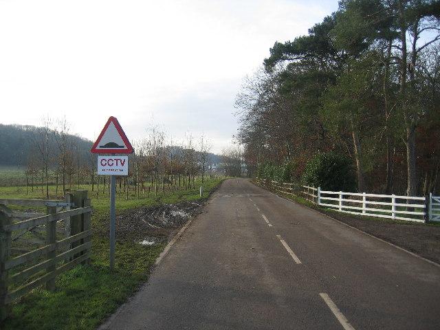 Driveway to Warwickshire College