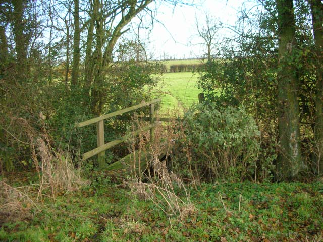 Footpath to Newton Bromswold from Rushden