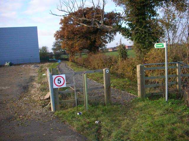 Footpath to Higham Ferrers