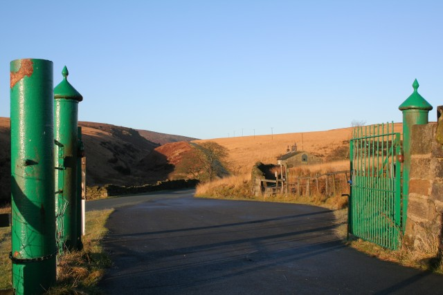 Water Authority gates, Clough Foot