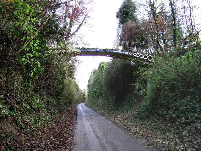Cast Iron Footbridge over Micheldever Road, Andover.
