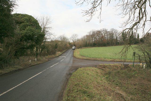 Entrance to Preshaw estate
