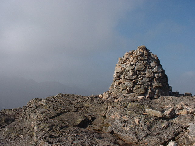 Summit Cairn Pike o' Blisco
