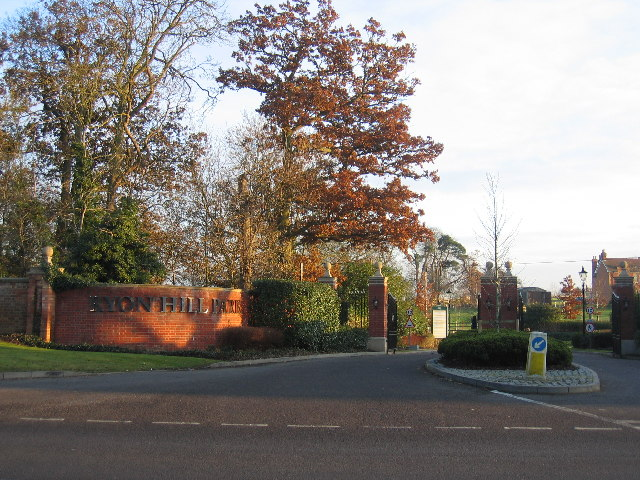 Entrance to Ryon Hill Park