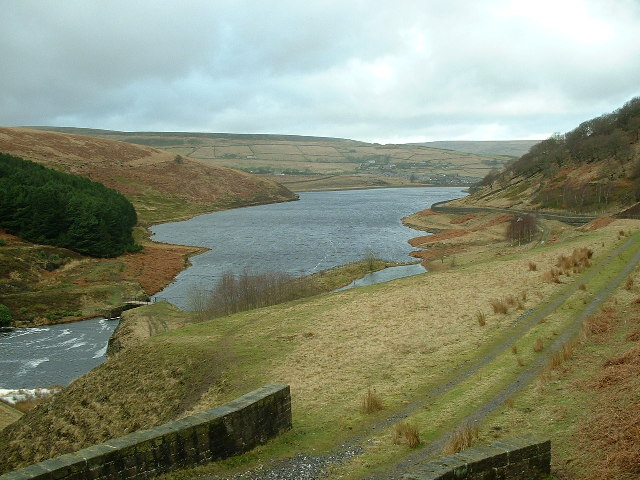 Southern end of Butterley Reservoir