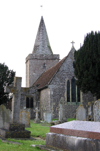 Church of St Peter, Goodworth Clatford, near Andover.
