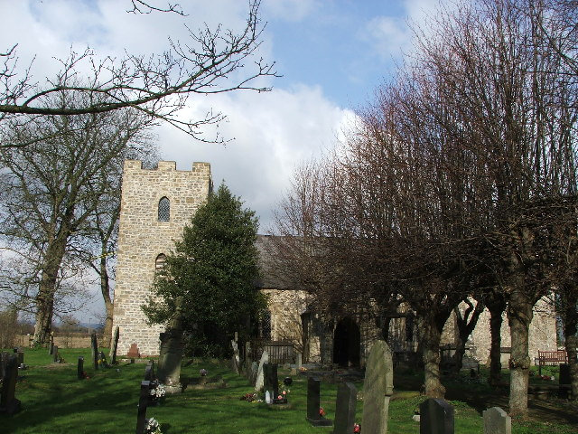 St Mary Magdalene Church, Goldcliff, Gwent Levels