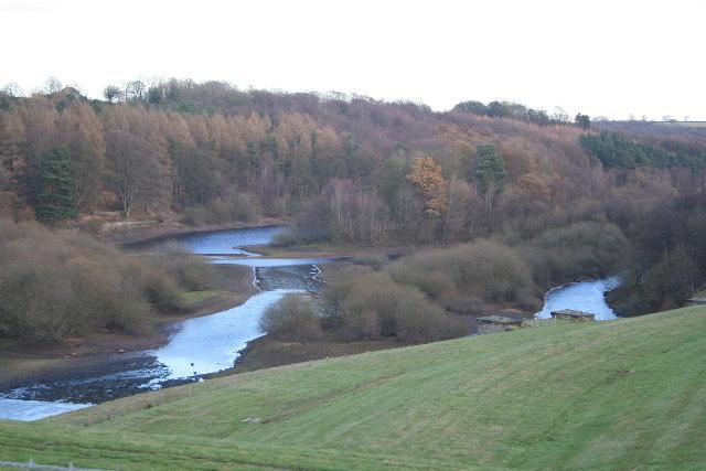 Swinsty Reservoir from Fewston Embankment