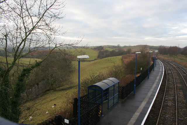Looking NW from Clapham Station, Yorkshire