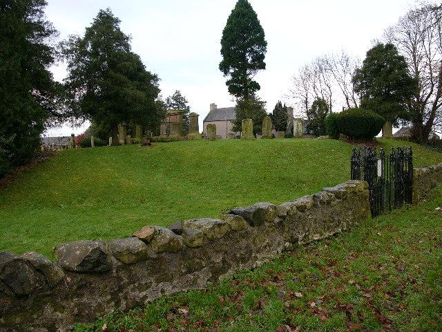 Churchyard, Nisbet