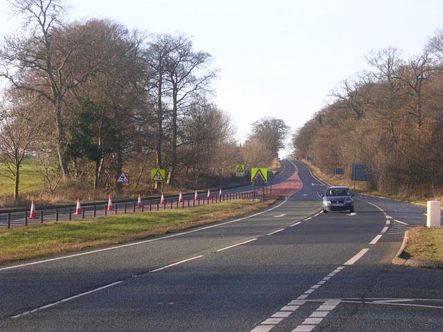 The A66, near Greta Bridge