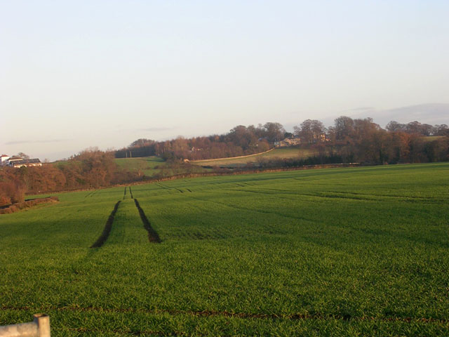 View from B6274 north of Winston, County Durham
