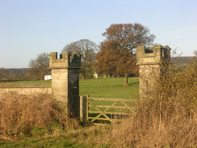 Gateway on B6279 near Staindrop, County Durham