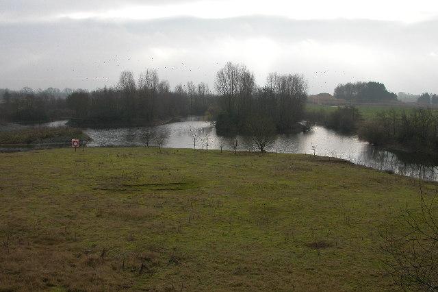 Lake near Nosehill Farm