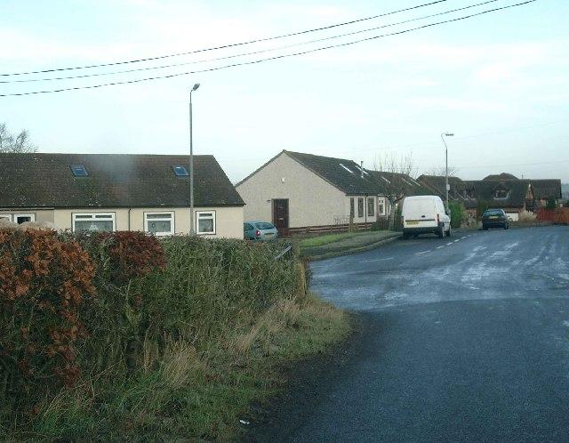 Entering Crossford from Hallhill