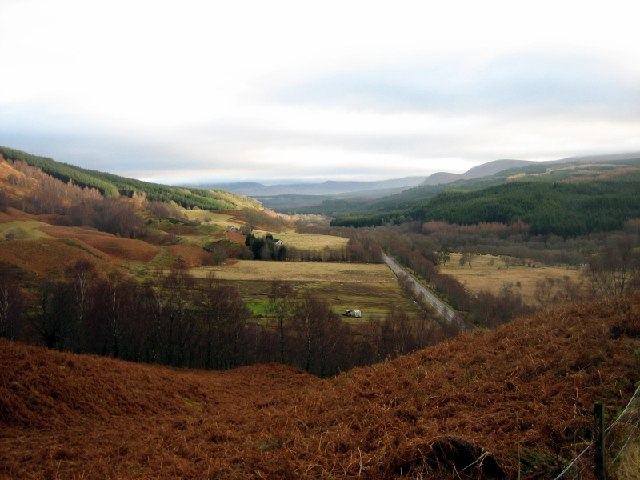 Fields at Murlaggan