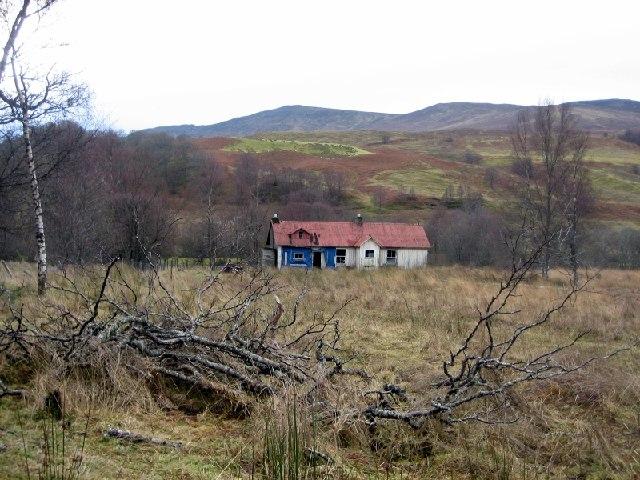 Dilapidated Croft at Murlaggan