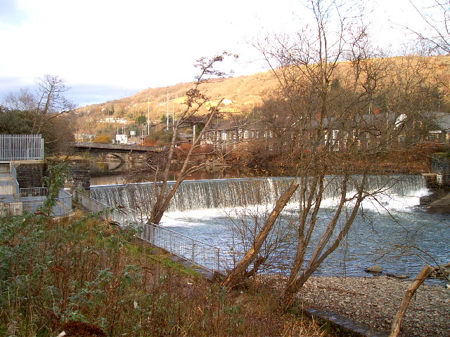 Treforest Weir and fish pass