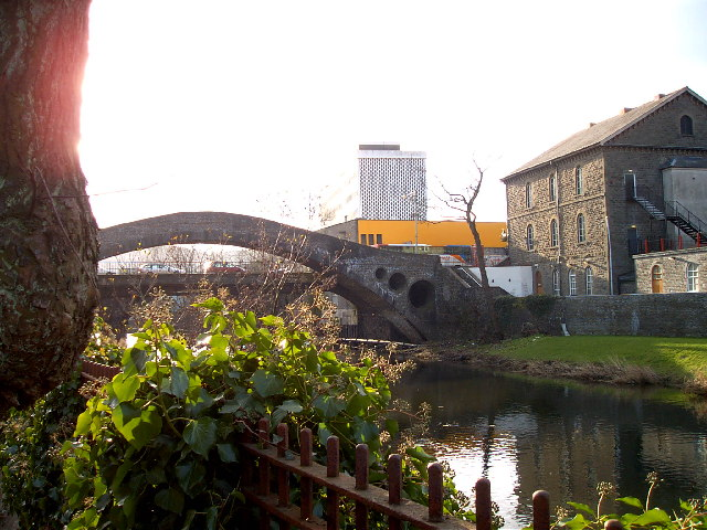 The Old Bridge Pontypridd