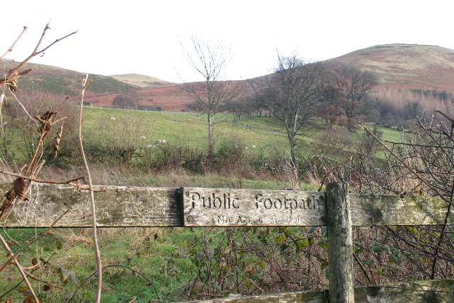 Footpath not to Fell