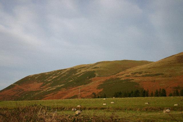 Lower slopes Kirkfell
