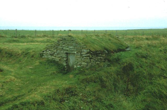 Fishermen's hut at Skipi Geo.