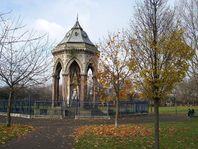Burdett Coutts Fountain, Victoria Park, London E9